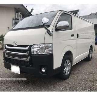 New Toyota Hiace Panel Van 2017 Euro 6