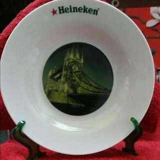 海尼根 紀念瓷盤 倫敦大橋