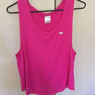 RUNNING BARE Loose Tank Size 10