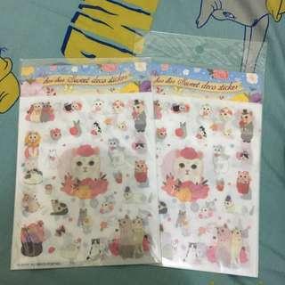 韓國ChooChooCat Deco Sticker and Marshmallow Sticker