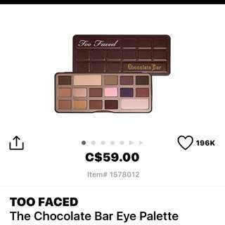 Too Faced Palettes!