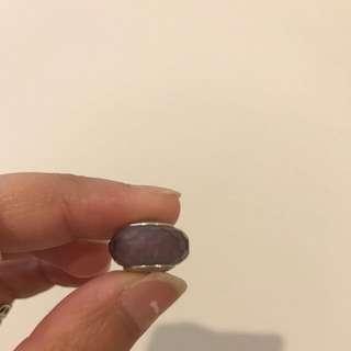Pandora Purple Glass Charm