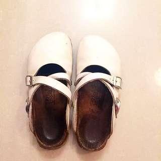 正版!勃肯包鞋❤️白色(22-23cm)