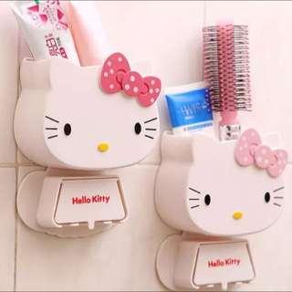 Kitty多功能牙刷架