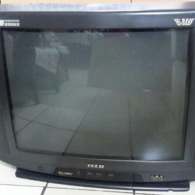 東元29吋電視 (傳統CRT電視) 慈善,弱勢團體免費。(但要自取)