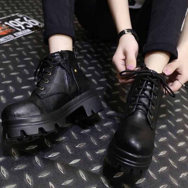 黑色靴子39碼