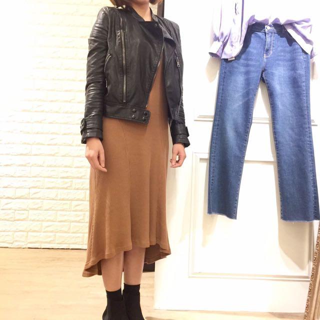 韓國洋裝&皮外套