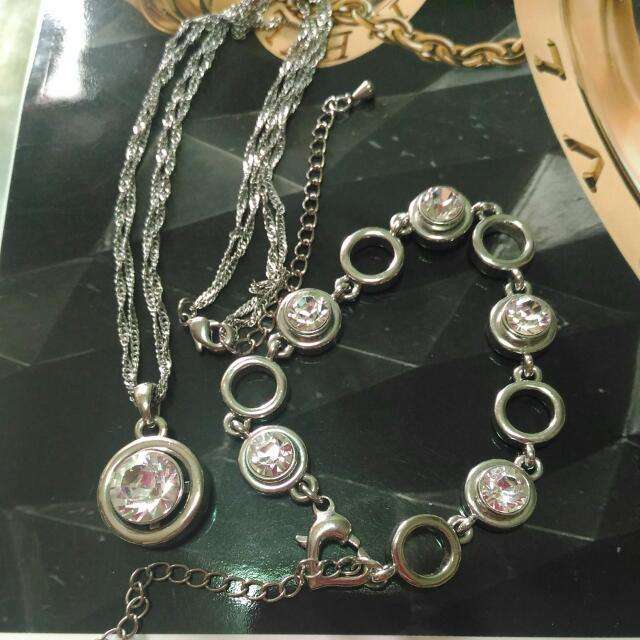 磁石項鍊手鍊組