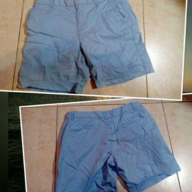 換物)淺藍短褲