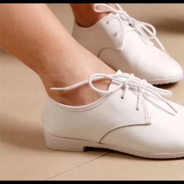韓版牛皮小白鞋