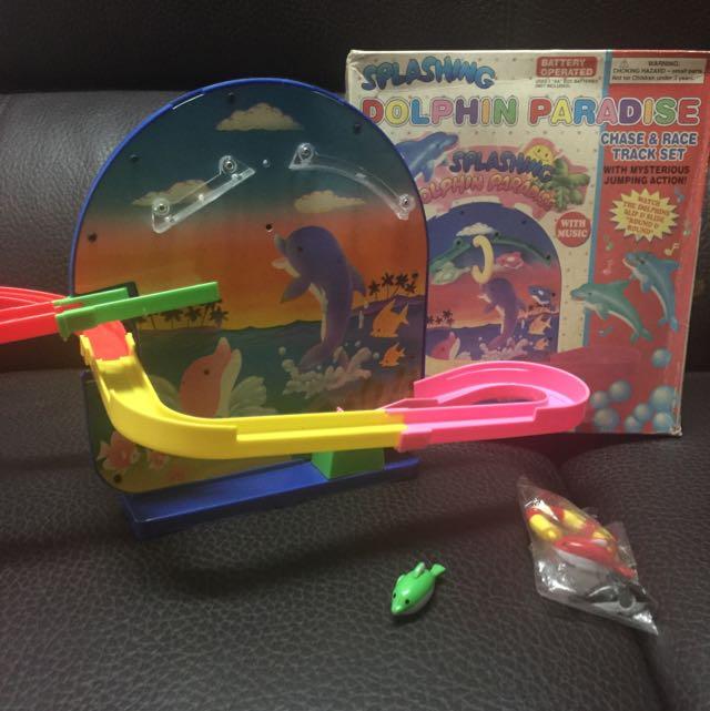 懷舊玩具 條水泡海豚
