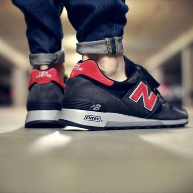 二手 New Balance 1300 灰紅 鐵灰 深灰 美製 USA 復古 休閒 麂皮 慢跑鞋 男鞋  M1300BB