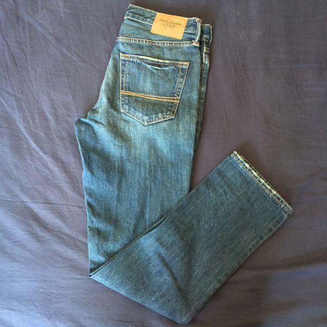 A & F 牛仔褲