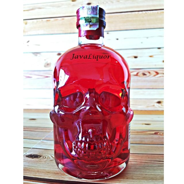 Absinthe Antitoxin Red Chili Skull Germany Liqueur ORIGINAL 100%