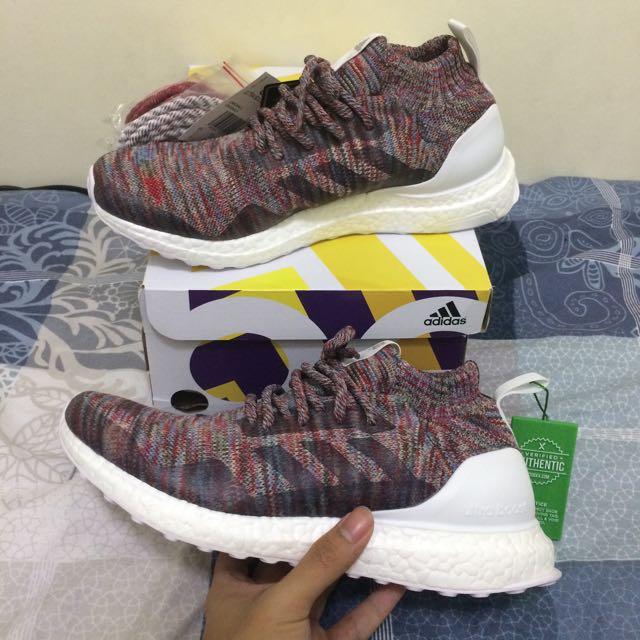 d2537888f Adidas Consortium X Kith Ronnie Fieg Ultra Boost Mid