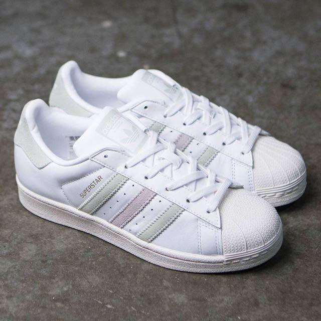 Adidas Superstar - Linen Green / Ice