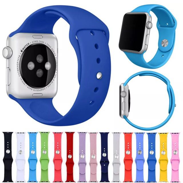Apple Watch 42mm Silicone Band