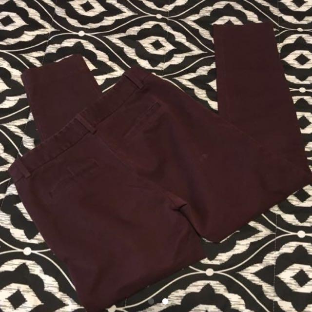 REDUCED Babaton Elliot SIZE 2 pants