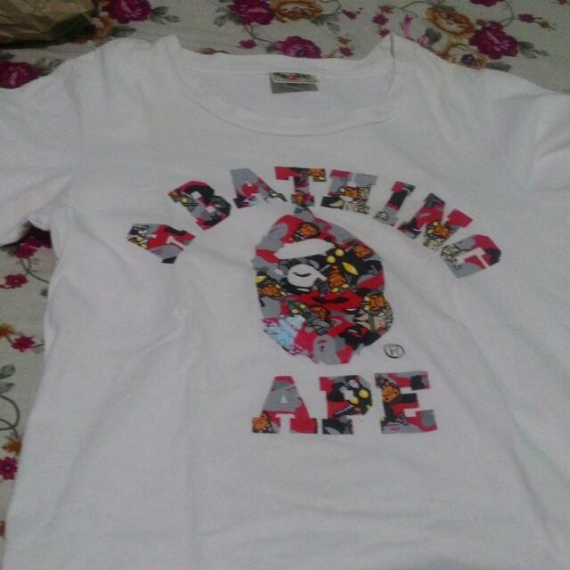 BAPE Authentic White Shirt
