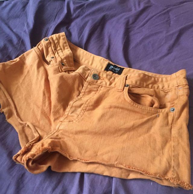 Bardot Denim Shorts S14