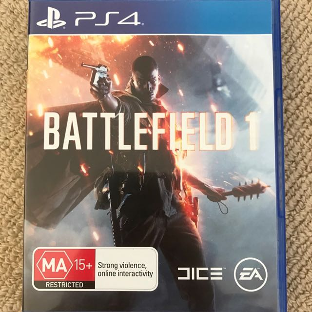 Battlefield 1 Xbox One PS4