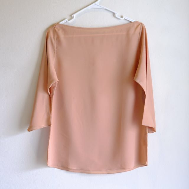 Blouse Shopatvelvet Light Brown
