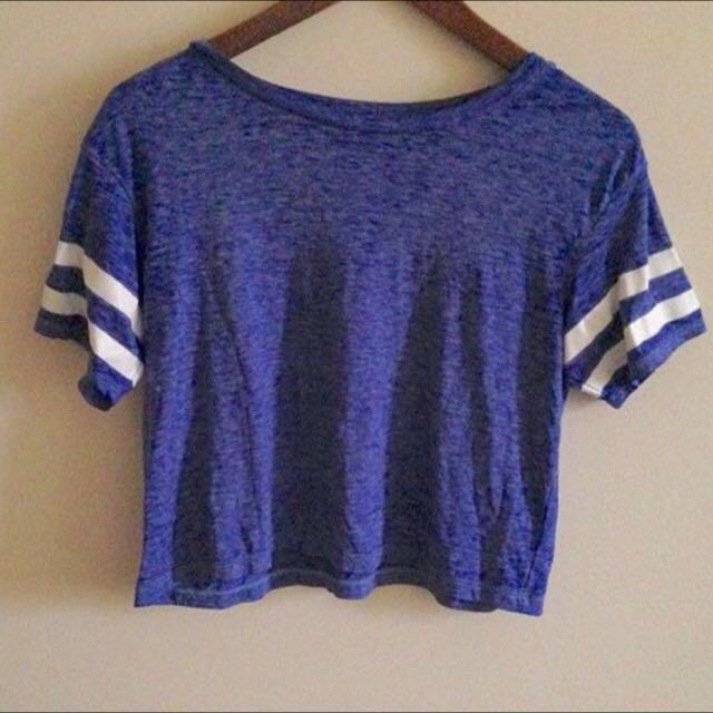 Blue American Eagle Shirt/Top