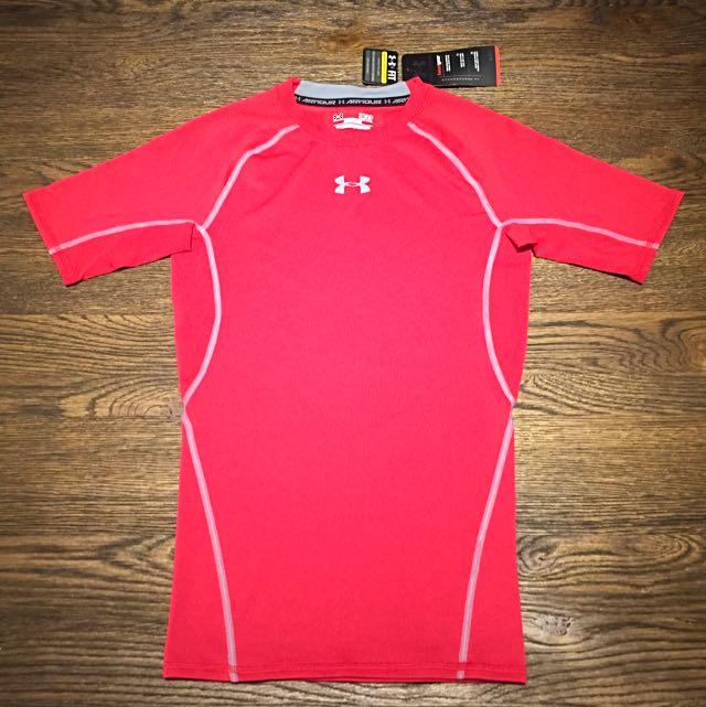 Brand New And Authentic UNDER ARMOUR Compression Short Sleeve Shirt Size S