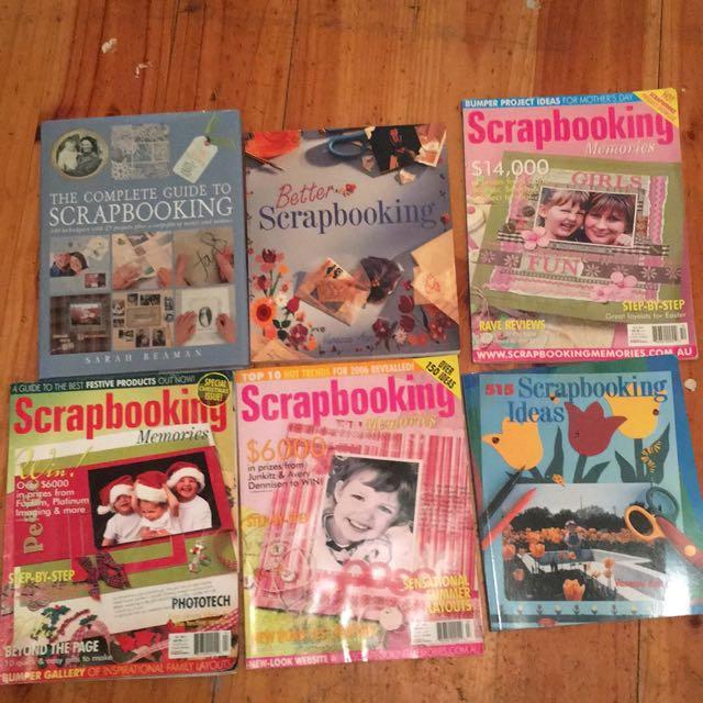 Bulk Scrapbooking Books And Magazines