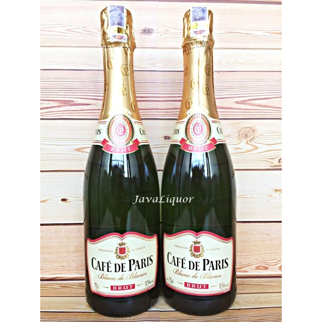 Cafe De Paris Brut Sparkling Wine ORIGINAL 100%
