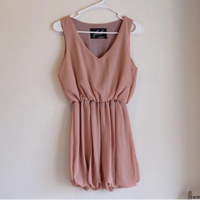 Casual Lightbrown Dress