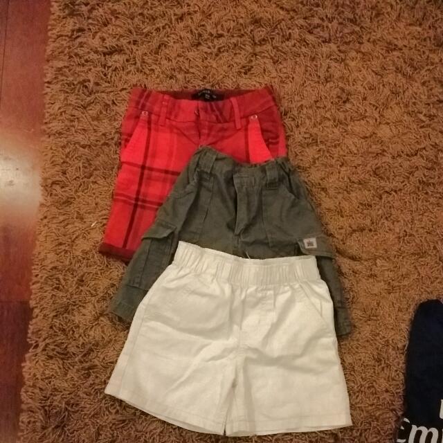 Celana Pendek Boy 1.5th Sd 3th