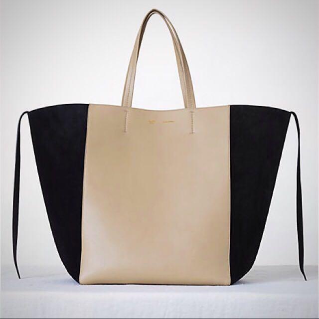 Celine Tote Bag (Phantom Two Toned) e30e3e953bf6e