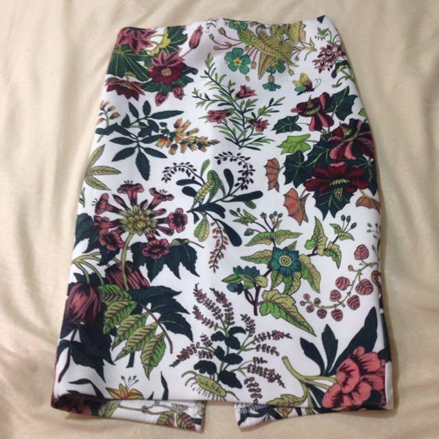 Chocochips Boutique Flower Skirt