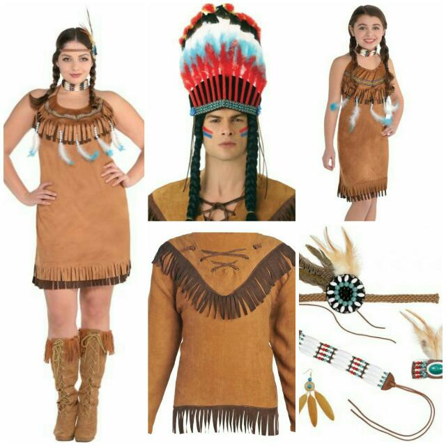 Costume Native Indian