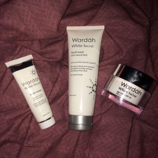 Day Cream, Night Cream And Facial Wash By Wardah