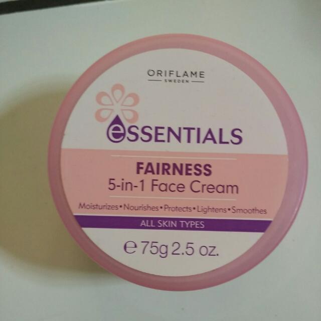 essentials fairness 5 in 1 face cream