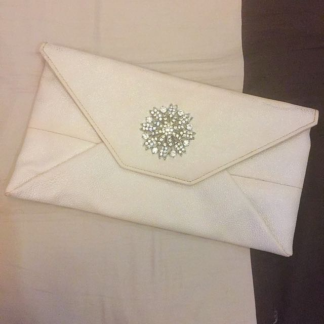 Ever New Envelope Clutch