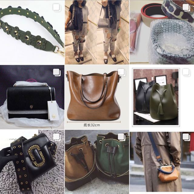 Fashion Straps & Bags