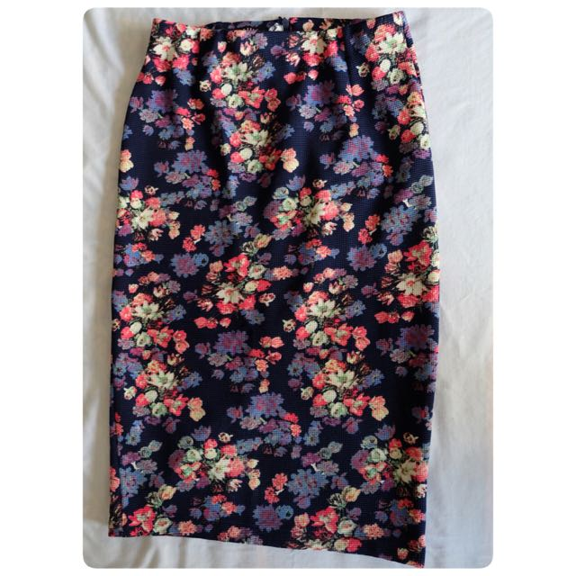 Flower Skirt Multicolor