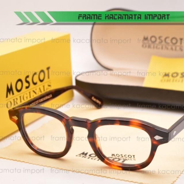 Frame Kacamata Klasik Moscot Lemtosh Small Leopard 269efd89f7
