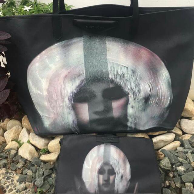 30e8c2d02234 Givenchy Antigona Bohemian Large Coated Canvas Shopping Tote Bag ...