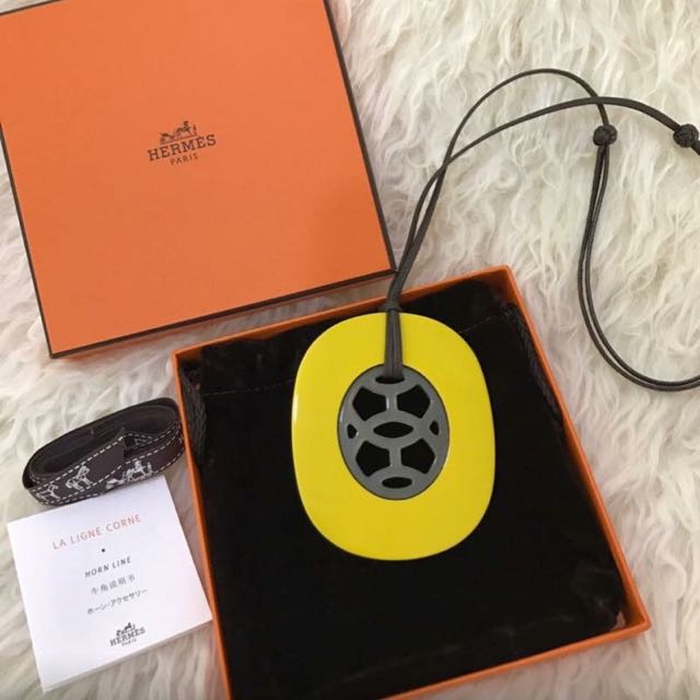 Hermes Yellow Horn AUTH