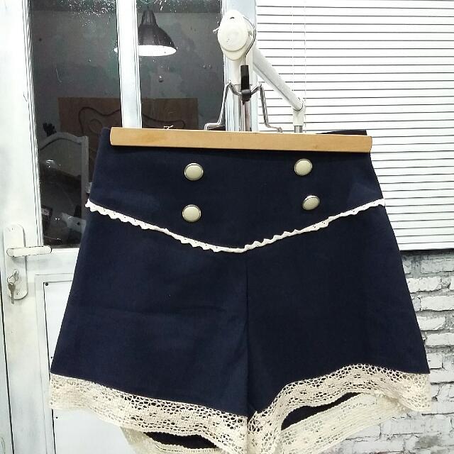 Hot Pants Navy