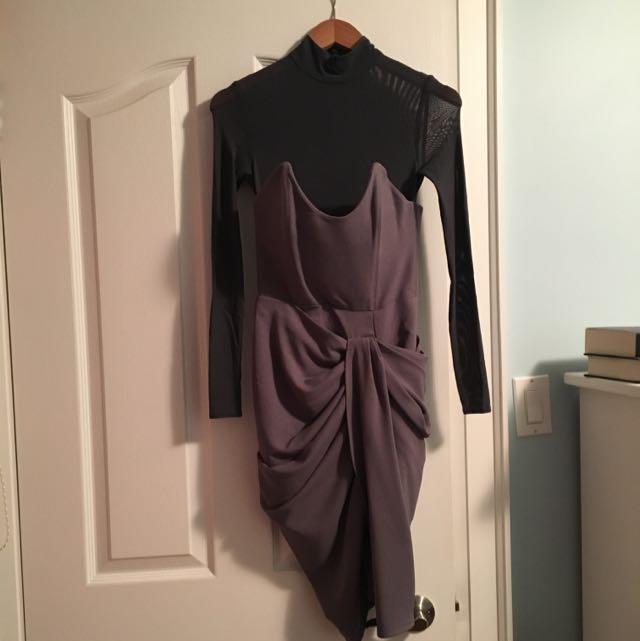 House Of CB Mesh Dress