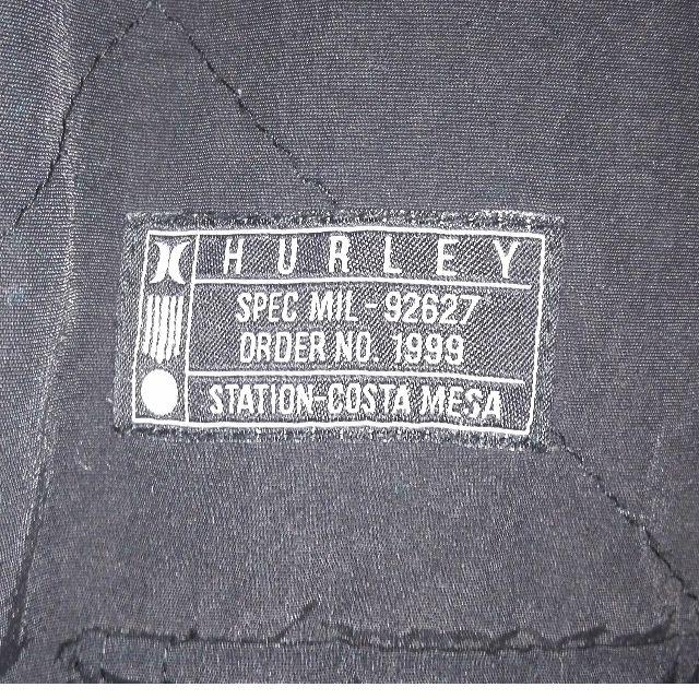 Hurley winter jacket