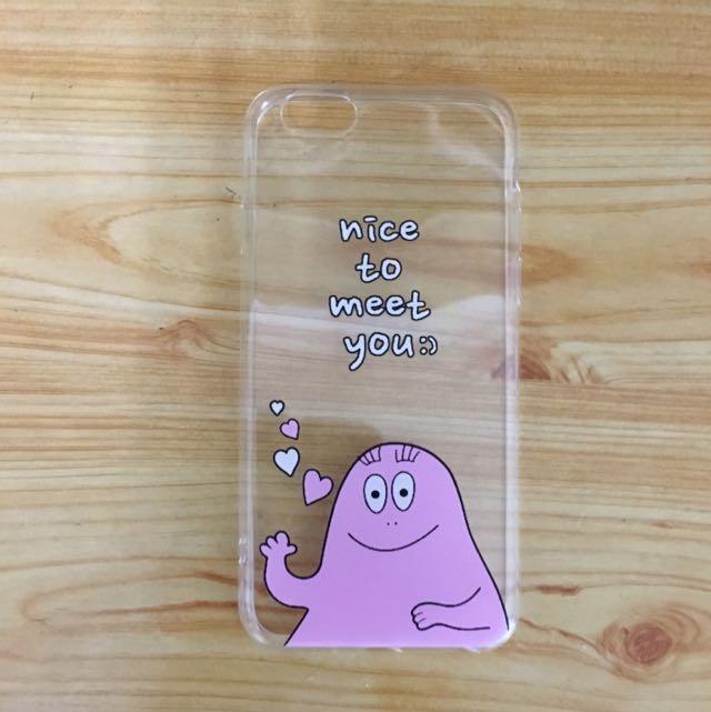 泡泡先生i Phone 6軟殼
