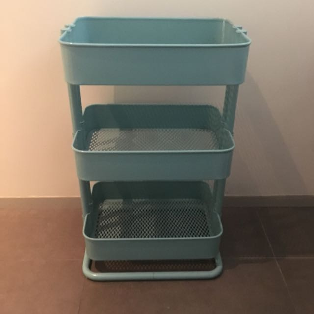 Ikea Raskog Trolley In Aqua
