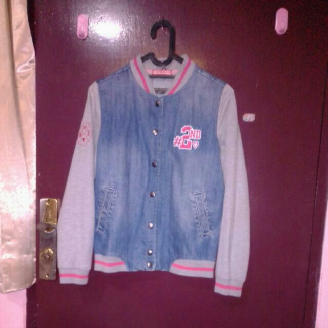 Jacket Baseball Jeans