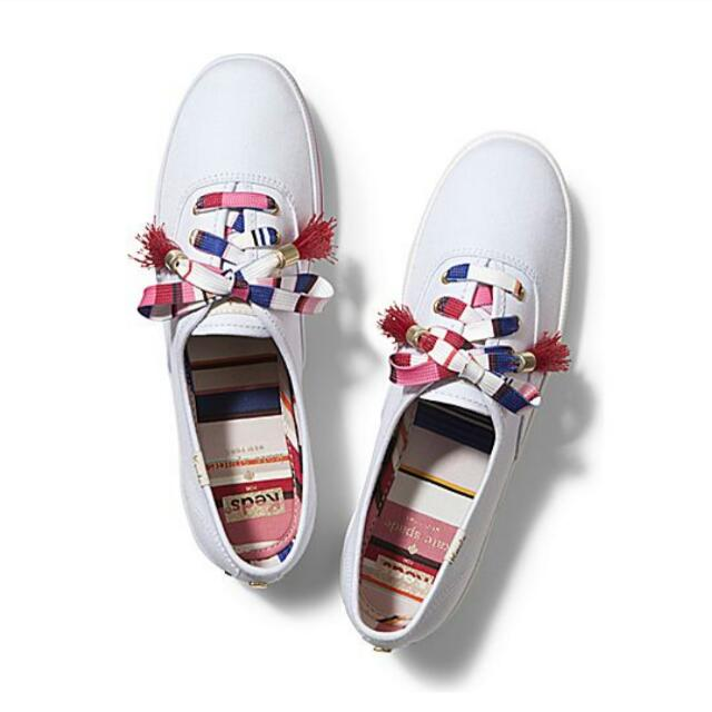 8524fe4848846 KEDS X KATE SPADE NEW YORK CHAMPION (Silky Multi Lace Tassel ...
